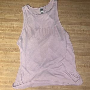 Backless Victoria Sport tank top